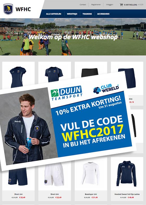 wfhc online webshop